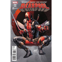 Deadpool #18 Rob Liefeld Celebrity Authentics Exclusive Cover Comic