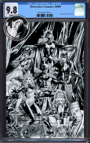 DETECTIVE COMICS #1000 UNKNOWN COMIC BOOKS JAY ANACLETO EXCLUSIVE VIRGIN REMARK EDITION CGC 9.8 BLUE LABEL 7/30/2019