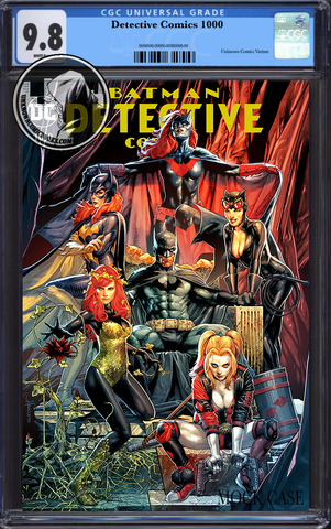 DETECTIVE COMICS #1000 UNKNOWN COMIC BOOKS JAY ANACLETO EXCLUSIVE CGC 9.8 BLUE LABEL 7/30/2019