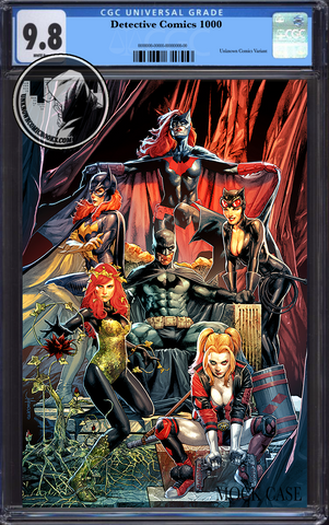 DETECTIVE COMICS #1000 UNKNOWN COMIC BOOKS JAY ANACLETO EXCLUSIVE VIRGIN CGC 9.8 BLUE LABEL7/30/2019