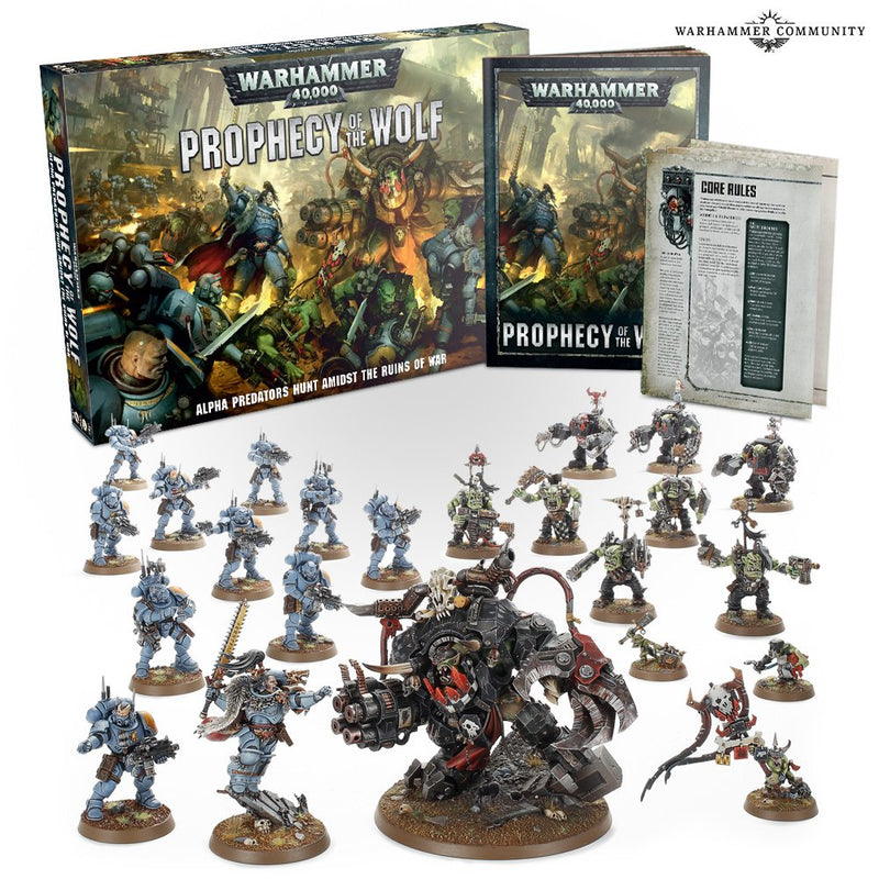 WARHAMMER 40K: PROPHECY OF THE WOLF (ENGLISH)