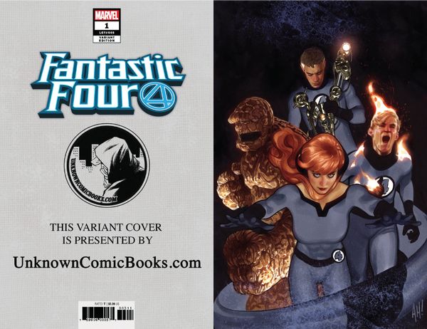 FANTASTIC FOUR #1 VIRGIN HUGHES VAR 8/8/2018
