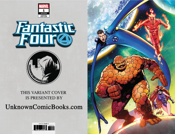 FANTASTIC FOUR #1 VIRGIN LIEFIELD VAR 8/8/2018