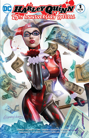 HARLEY QUINN 25TH ANNIVERSARY SPECIAL #1 UNKNOWN COMIC BOOKS & COMICXPOSURE EXCLUSIVE