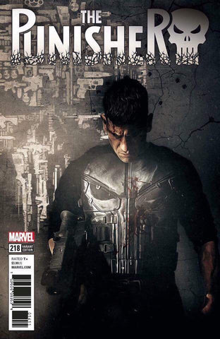 PUNISHER #218 TV VAR LEG 11/15/2017