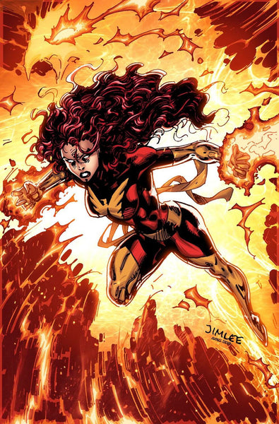 JEAN GREY #4 X-MEN CARD VAR 7/12/2017