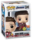 POP AVENGERS ENDGAME I AM IRON MAN PX GID DLX VIN FIG (03/25/2020)