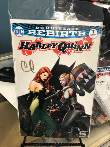 HARLEY QUINN #1 VOL. 3 CLAY MANN KWAN CHANG COLOR EXCLUSIVE VARIANT SIGNED