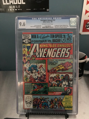 AVENGERS KING SIZE ANNUAL #10 9.6 GCG BLUE LABEL