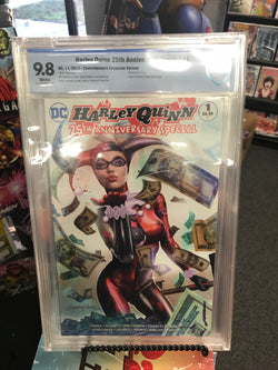 HARLEY QUINN 25TH ANNIVERSARY SPECIAL #1 9.8 CBCS UNKNOWN COMIC BOOKS  & COMICXPOSURE