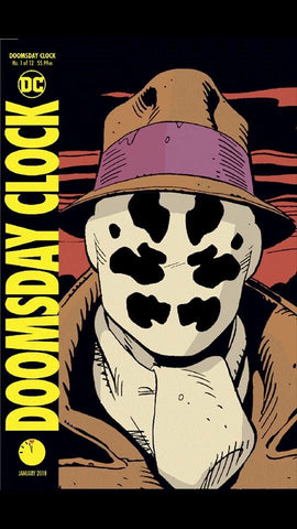 DOOMSDAY CLOCK #1 (OF 12) LENTICULAR VAR ED 11/22/2017