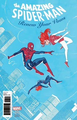 AMAZING SPIDER-MAN RENEW YOUR VOWS #13 WALSH VAR LEG 1:25 11/22/2017