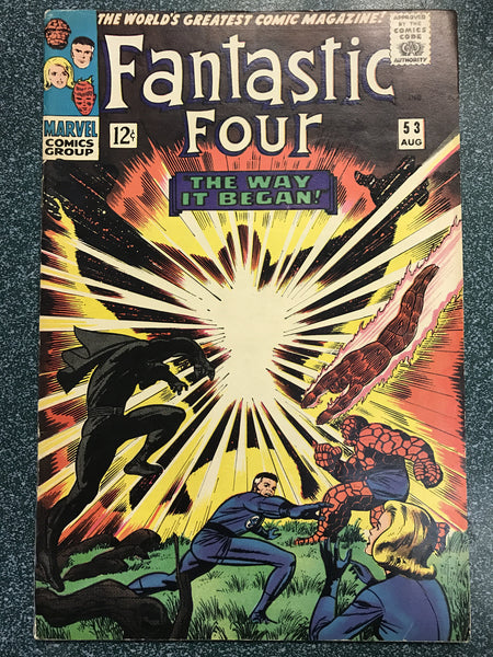 Fantastic Four #53 5.5-6.0 2nd Black Panther