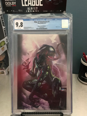 EDGE OF VENOMVERSE #1 CVR C 9.8 CGC BLUE LABEL