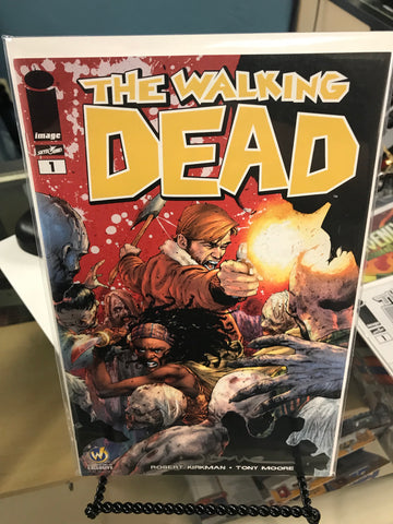 WALKING DEAD #1 Nashville 2015 Wizard World Comic Exclusive Variant Opena Color Signed