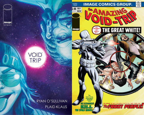VOID TRIP #1 2 PACK UNKNOWN COMIC BOOKS EXCLUSIVE