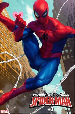 FRIENDLY NEIGHBORHOOD SPIDER-MAN #1 ARTGERM VAR 1/9/2019