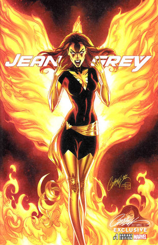 JEAN GREY #1 J. SCOTT CAMPBELL EXCLUSIVE CVR C