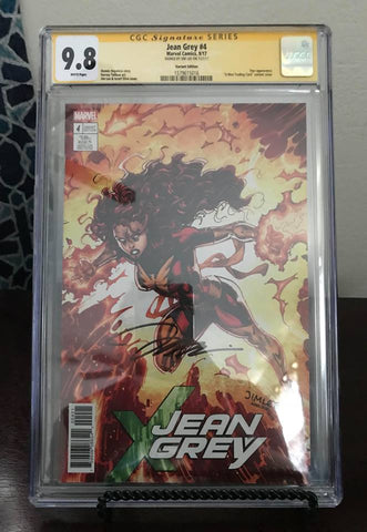 JEAN GREY #4 CGC 9.8 SIG SERIES JIM LEE