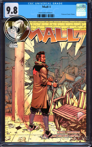 MALL #1 UNKNOWN COMICS CREEES EXCLUSIVE (MR) CGC 9.8 BLUE LABEL (11/30/2019)