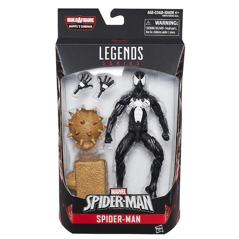 MARVEL SPIDER-MAN LEGENDS SERIES 6-INCH ACTION FIGURE -  SPIDER-MAN BLACK SUIT