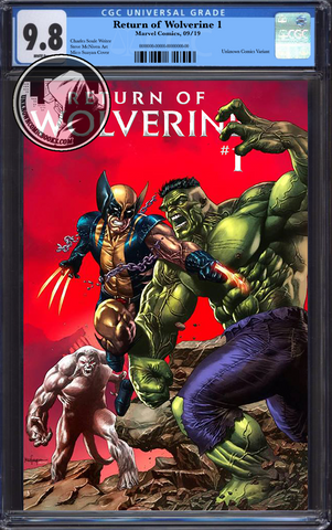 RETURN OF WOLVERINE #1 (OF 5) UNKNOWN COMIC BOOKS MICO SUAYAN CGC 9.8 BLUE LABEL 12/30/2018