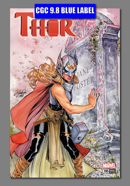 MIGHTY THOR #705 LEG 9.8 CGC BLUE LABEL UNKNOWN COMIC BOOKS EXCLUSIVE OUM 5/1/2018