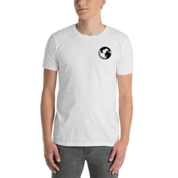 UNKNOWN COMIC BOOKS SM LOGO SHORT-SLEEVE UNISEX T-SHIRT