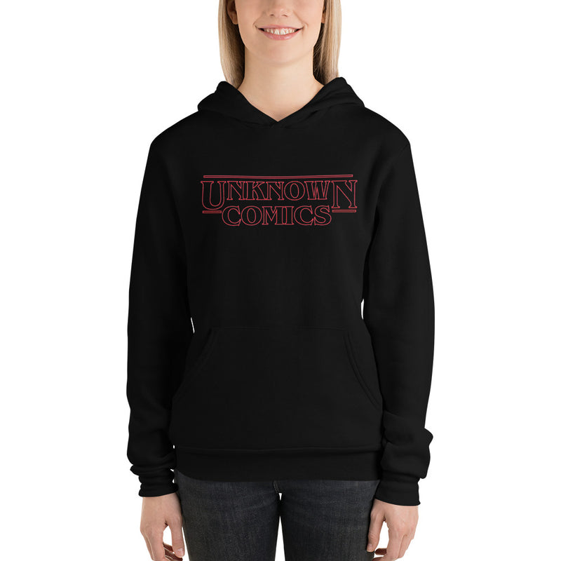 UNKNOWN COMIC BOOKS RETRO UNISEX HOODIE
