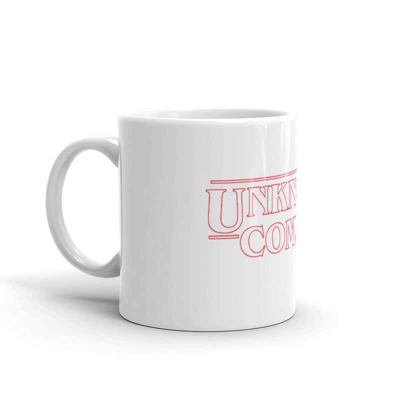 UNKNOWN COMIC BOOKS RETRO MUG