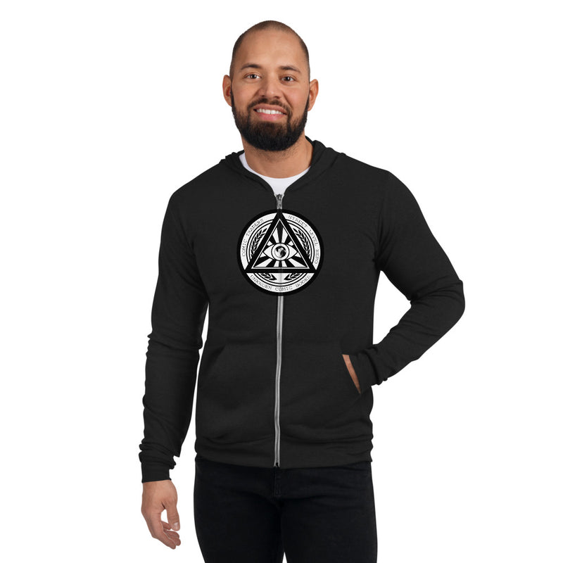 UNKNOWN COMICS ILLUMINATI Unisex zip hoodie