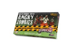 ZOMBICIDE ANGRY ZOMBIES: BOX OF ZOMBIES - SET 3