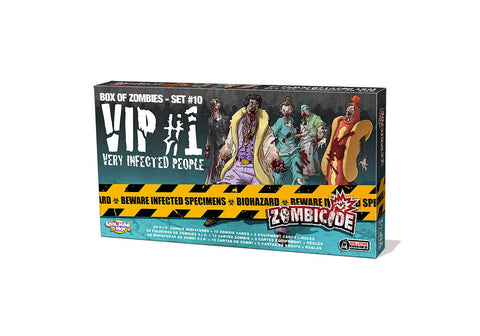 ZOMBICIDE VIP #1 VERY INFECTED PEOPLE: BOX OF ZOMBIES - SET 9
