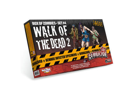 ZOMBICIDE WALK OF THE DEAD 2: BOX OF ZOMBIES - SET 4