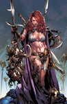 RED SONJA BIRTH OF SHE DEVIL #1 UNKNOWN COMICS ANACLETO EXCLUSIVE VIRGIN(06/12/2019)