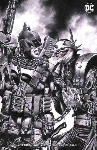 "BATMAN WHO LAUGHS #4 (OF 6) UNKNOWN COMIC BOOKS SUAYAN EXCLUSIVE ""REMARK"" EDITION 4/10/2019"