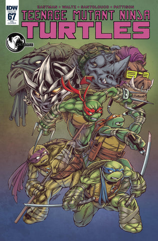TEENAGE MUTANT NINJA TURTLES #67 UNKNOWN COMIC BOOKS EXCLUSIVE COLOR