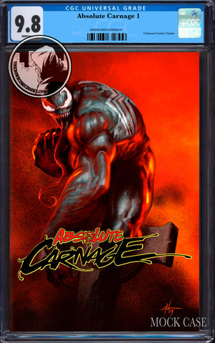 ABSOLUTE CARNAGE #1 (OF 4) UNKNOWN COMICS DELL'OTTO EXCLUSIVE CGC 9.8 BLUE LABEL (11/30/2019)