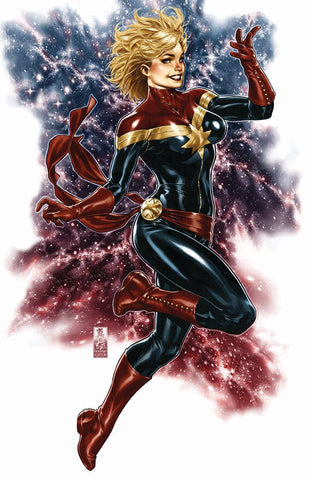 CAPTAIN MARVEL #1 MARK BROOKS EXCLUSIVE VIRGIN 1/30/2019