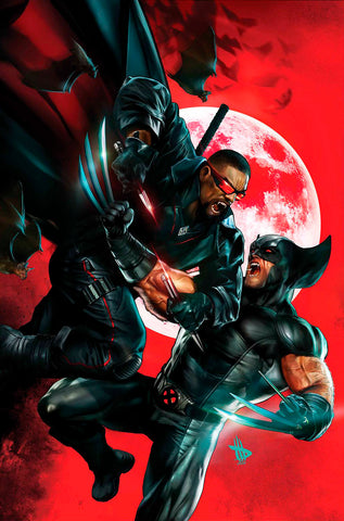 WOLVERINE VS BLADE SPECIAL #1 DAVE WILKINS VIRGIN EXCLUSIVE (07/10/2019)