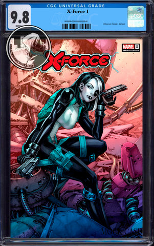 X-FORCE #1 KAEL NGU EXCLUSIVE VAR DX CGC 9.8 BLUE LABEL (03/30/2020)