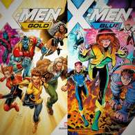 X-men blue and gold variant bundle (no 1:1000)  Includes Exclusive Connecting Covers