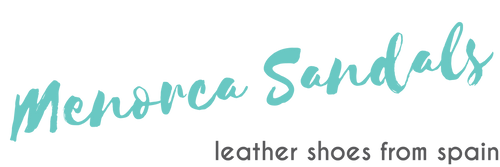 Logo for the Menorca Sandals online store
