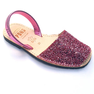 Load image into Gallery viewer, Glitter CORAL - Menorca Sandals - Menorca Sandals