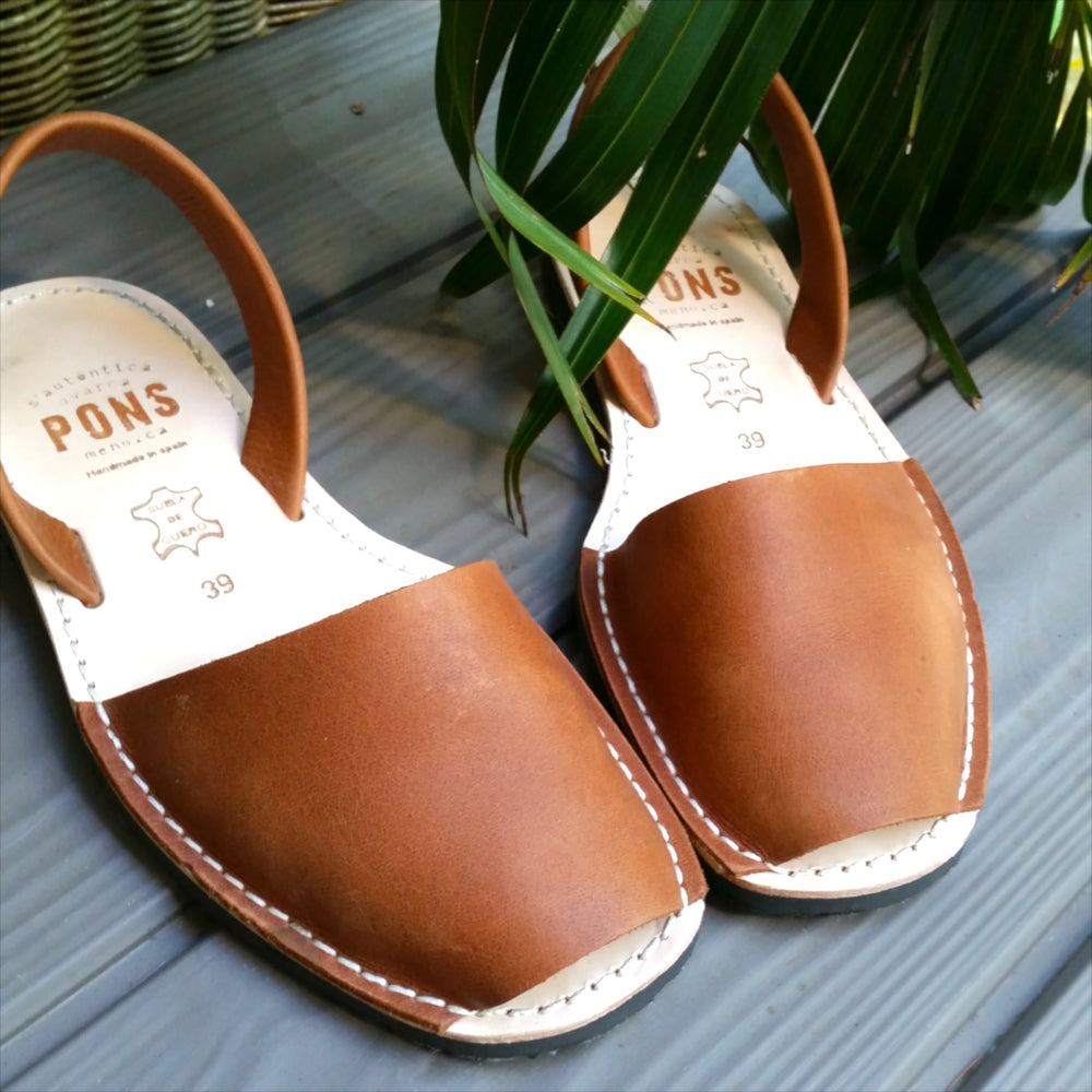 Leather TAN - Menorca Sandals - Menorca Sandals