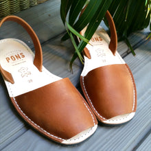 Load image into Gallery viewer, Leather TAN - Menorca Sandals - Menorca Sandals