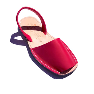 Leather PINK - Menorca Sandals - Menorca Sandals