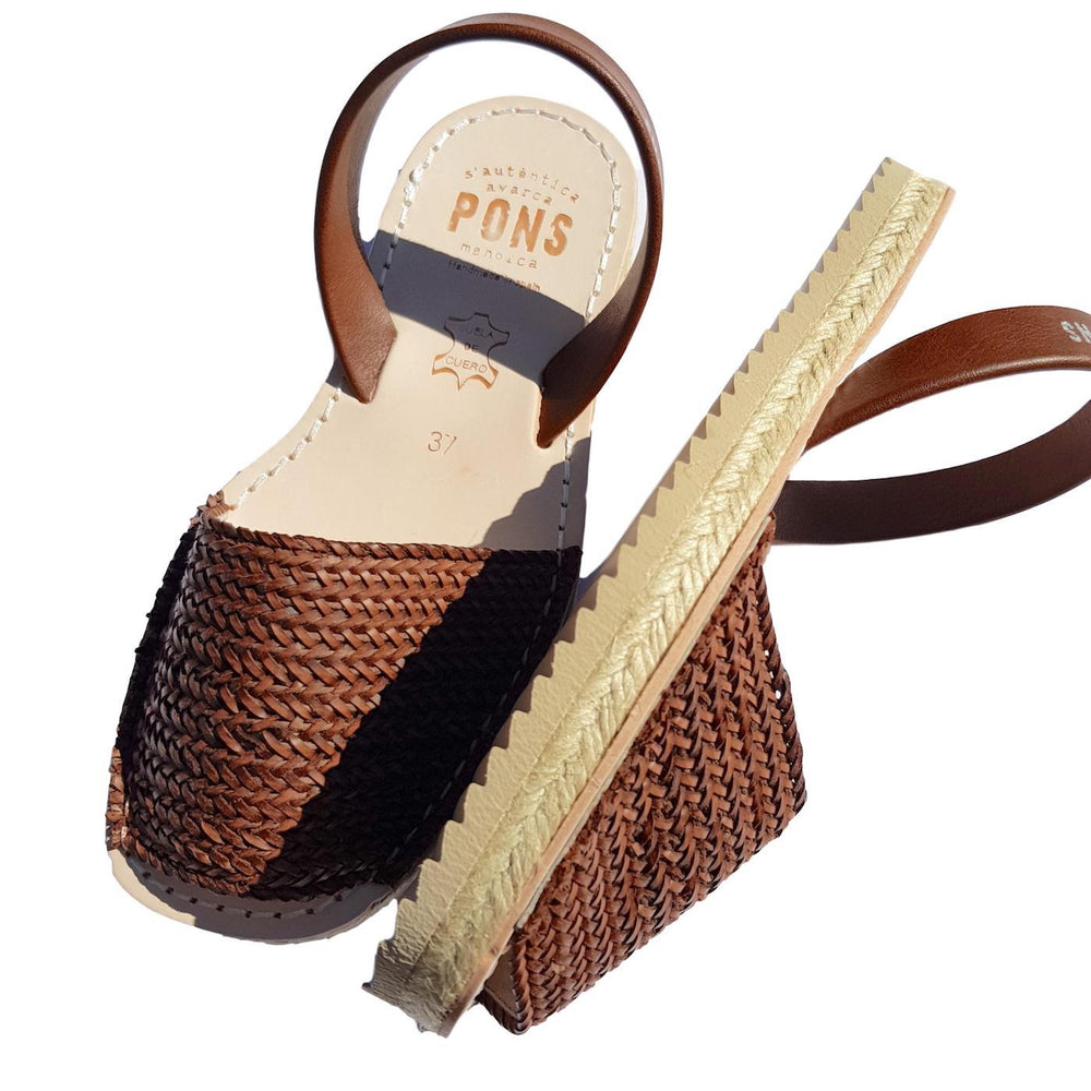 Load image into Gallery viewer, Espadrille braided tan
