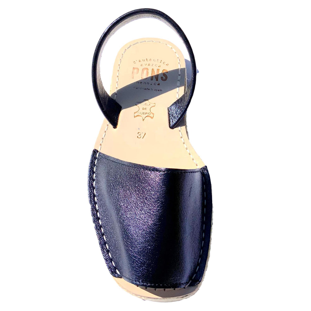 Load image into Gallery viewer, Espadrille - Metallic OCEAN - PONS