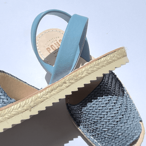 Espadrille - Braided BLUE  - PONS